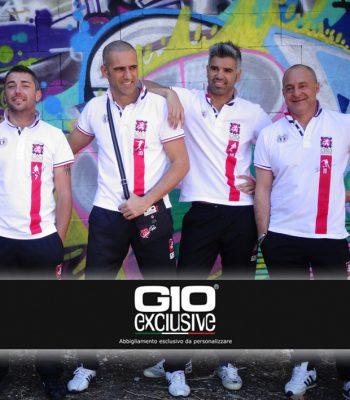 Polo da personalizzare esempio Futsal GIO Five Soccer