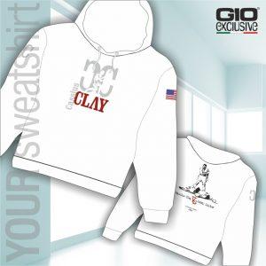 Felpa da personalizzare Bianca Cassius Clay