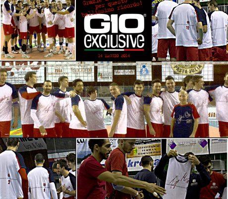 T-shirt da personalizzare esempio team Serie A1 pallavolo